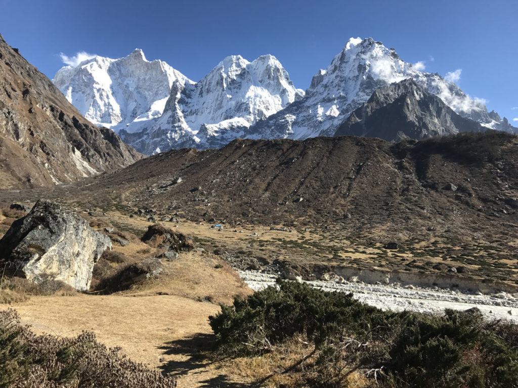 Inpressive Kanchenjunga range